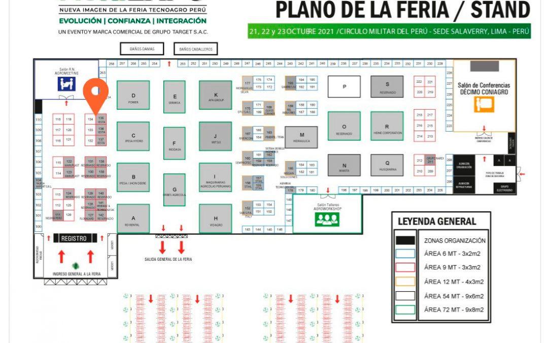 IESTA SAC auspiciador de Agriexpo Perú 2021